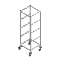 Dishwasher rack trolley K-5