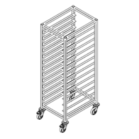 Bakery trolley P-13/400